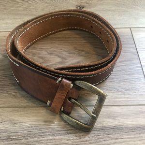 Accessories - Brown Belt Size 36